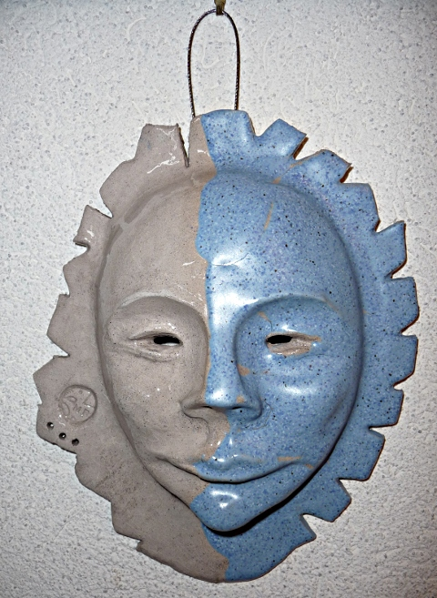 masque &quot;ambivalence bleue&quot;  Michle Ruffin