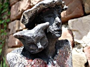 """""""l'homme qui murmurait à l'oreille des chats"""" © Michèle Ruffin"""