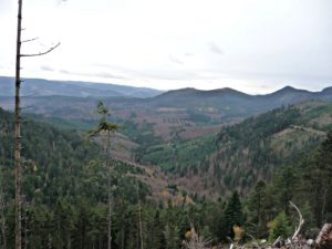 vue sur la vallee de la bruche