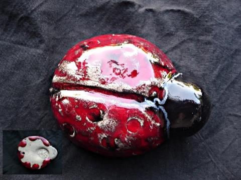 coccinelle céramique