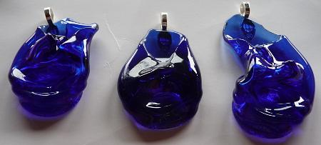 goulot bleu
