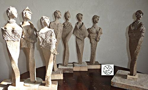 Sculptures céramique