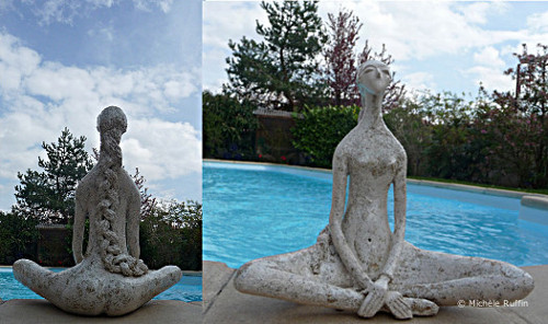 "sculpture ""Louise"" © Michèle Ruffin"