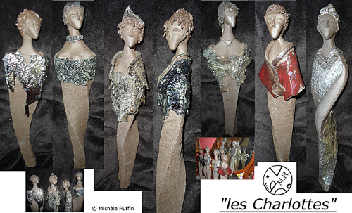 """les charlottes"" © Michèle Ruffin"