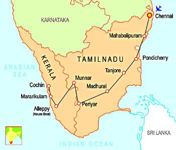 Inde Tamil Nadu _Kerala